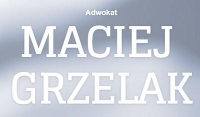 Adwokat Maciej Grzelak