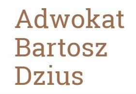 Adwokat Bartosz Dzius