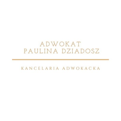 Adwokat Paulina Dziadosz