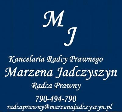 Radca Prawny Marzena Jadczyszyn
