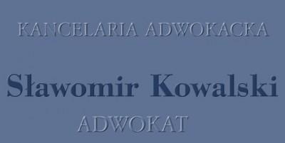 Adwokat Sławomir Kowalski