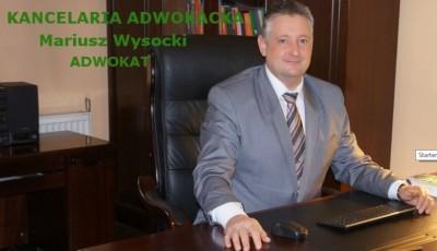 Adwokat Mariusz Wysocki