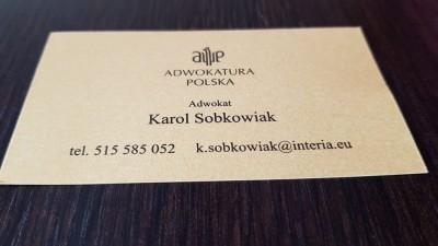 Kancelaria Adwokacka Karol Sobkowiak