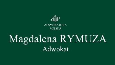 Adwokat Magdalena Rymuza