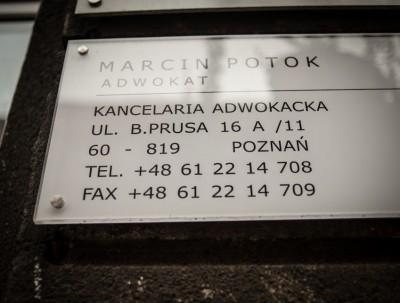 Adwokat Marcin Potok