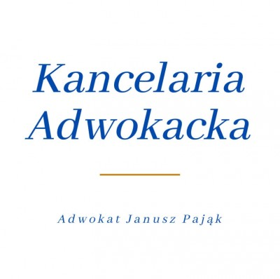 Adwokat Janusz Pająk